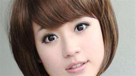 model rambut pendek muka bulat hidung pesek model rambut