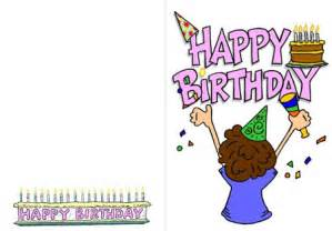 birthday cards to print free