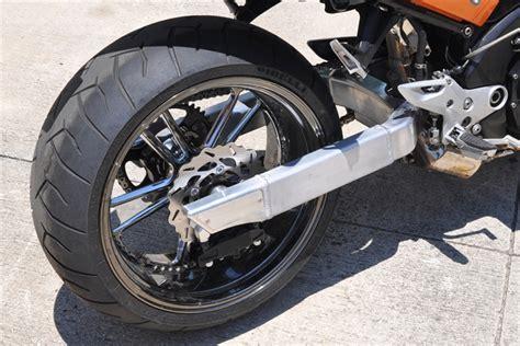 Rear Tyre Hugger Zx10 51101 1200 suzuki b king custom 240 wide tire swingarm conversion kit