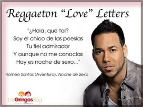 Letter Chico Lyrics Reggaeton Letters Las Gringasblog