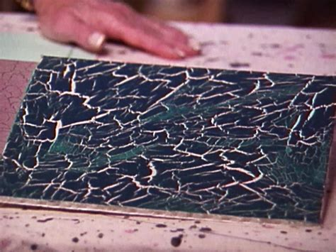 acrylic paint on canvas cracking crackle paint diy