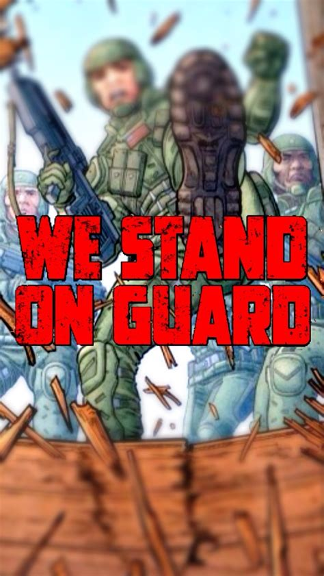 we stand on guard 8416767815 we stand on guard iphone wallpaper by canadianpeacemaker on