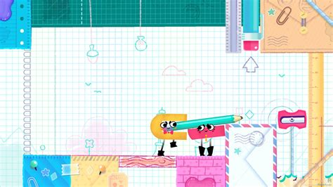 Kaset Switch Snipperclips Plus Cut It Out Together snipperclips cut it out together switch jeux torrents