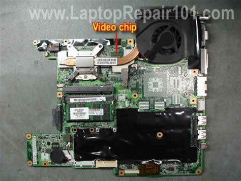 baking the motherboard hp pavilion dv2500 nvidia fixing compaq motherboard laptop repair 101