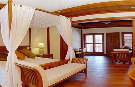 canapé colonial salas de madera