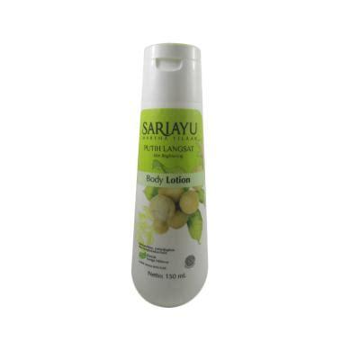 Daftar Pelembab Sariayu jual sariayu putih langsat lotion harga