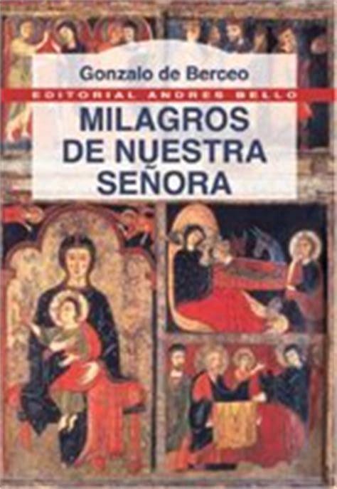 libro milagros de nuestra senora tus libros descargables nitram milagros de nuestra se 209 ora berceo