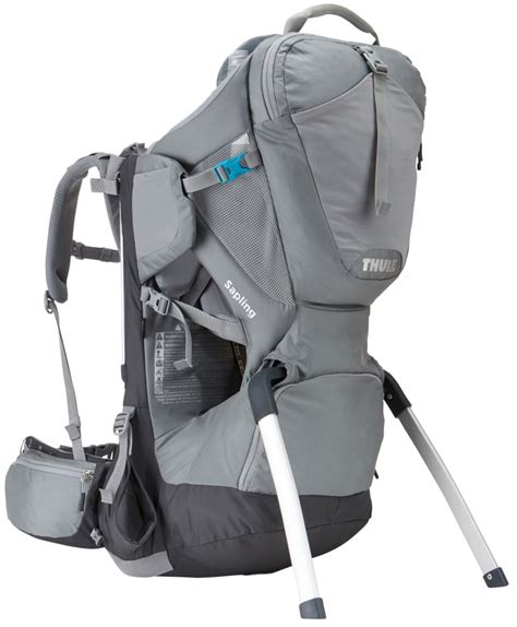 carrier backpack hiking thule sapling child carrier backpack for hiking gray thule luggage th210202