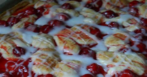 recipes straight from the kowboys home cherry kuchen bars