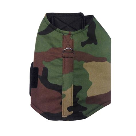 harness vest green camo harness vest barkertime