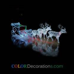 outdoor lighted sleigh wholesale best cd ls107 outdoor led light