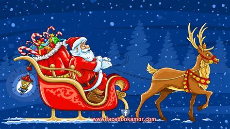 imagenes de santa claus con los renos fondos y wallpapers para navidad y a 241 o nuevo 2013 gratis