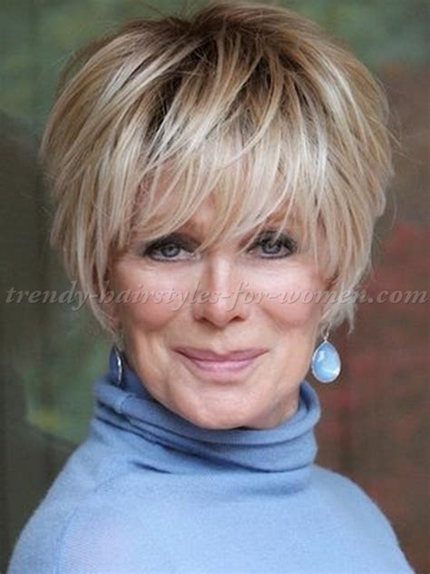 blonde hairstyles for over 50 short haircuts for straight hair over 50