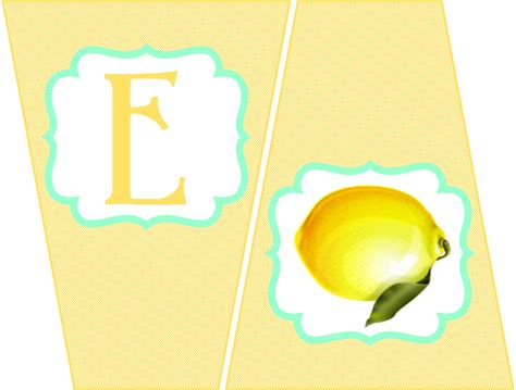 printable lemonade banner embellish free printables lemonade sweets stand