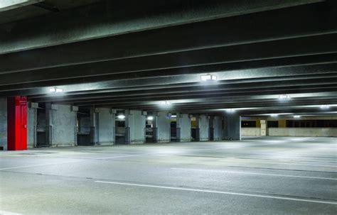 led parking garage lighting cree led lighting brightens up reston hospital center