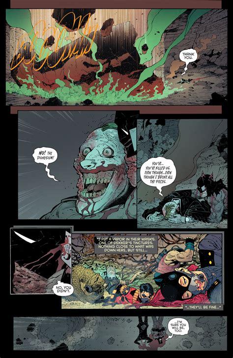 scott snyder talks batman endgame finale post convergence plans nerdist dc comics endgame finale spoilers review batman 40 with batman s joker s fates plus