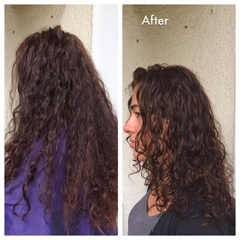 curly haircuts before and after learn to love your curly hair more before and after pictures