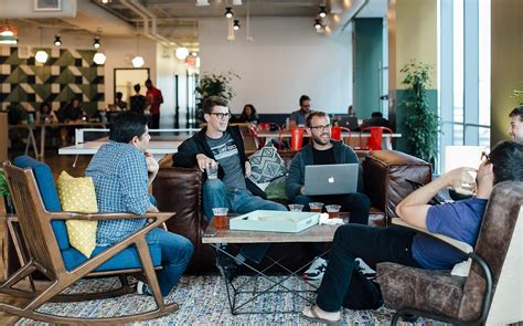Tech Office Design a tour of wework transbay officelovin