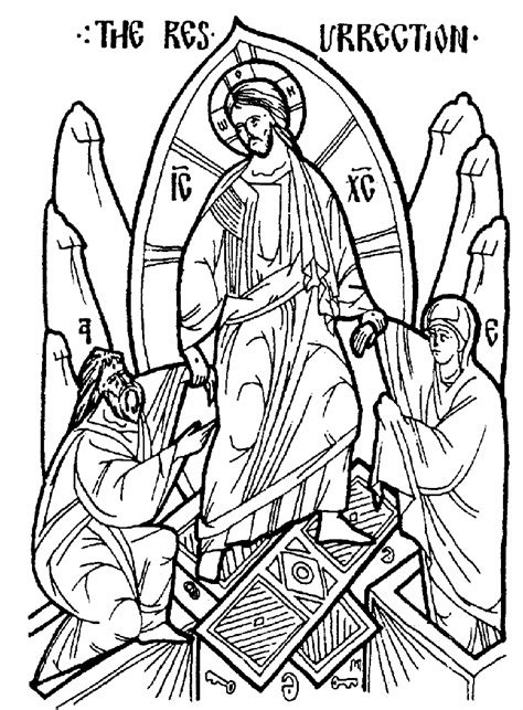 christian icon coloring pages color icons in honor of st luke s feast day free