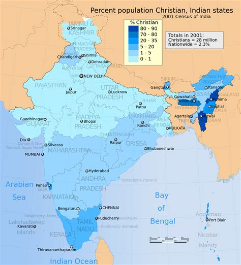 file 2001 census india religion distribution map percent