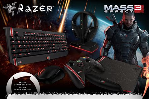 Razer Onza Mass Effect 3 razer mass effect 3 gaming gear review hardwareheaven