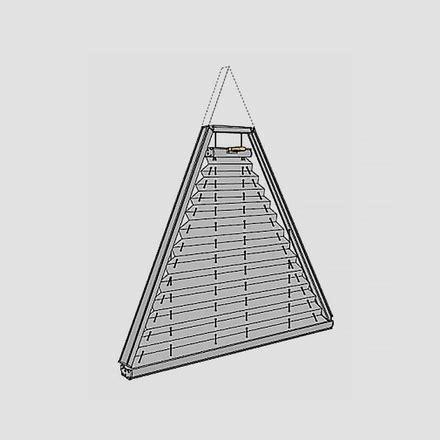 Dreiecksfenster Sichtschutz by Plissee Sonderformen Passgenaue Plissees F 252 R Jede