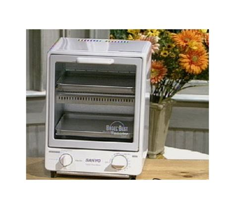 Sandwich Toaster Sanyo sanyo space saving toasty oven qvc