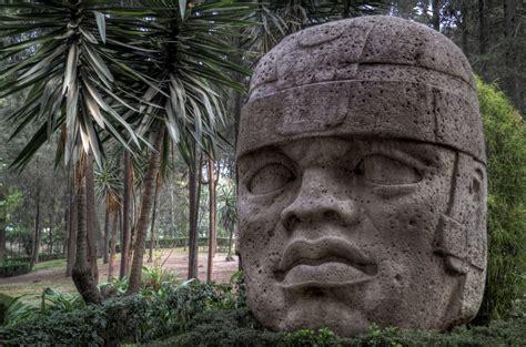 Imagenes De Los Olmecas Xicalancas | el embrujo de gaia las colosales cabezas olmecas