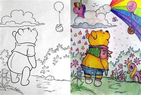coloring book pictures gone wrong 42 dibujos que dan un toque original a los libros para