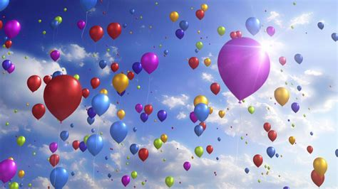 colorful balloons colorful balloons downloops creative motion backgrounds