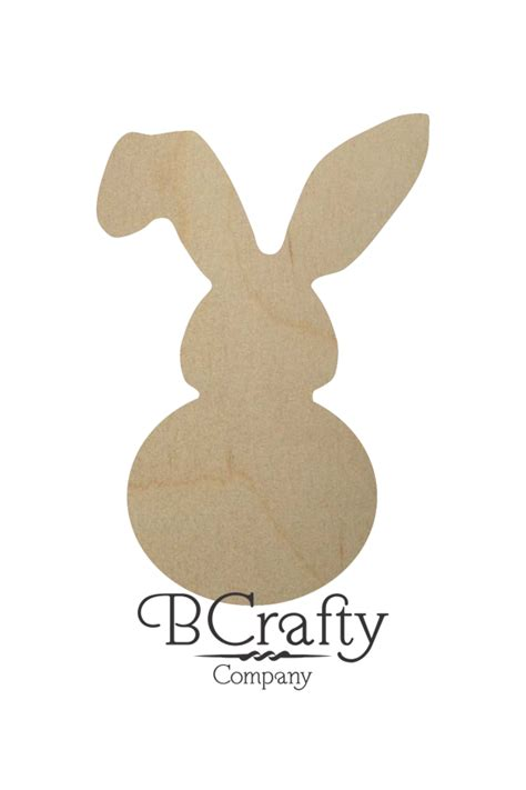 Tag Wholesale Home Decor by Unfinished Wooden Bunny Cutout Unfinished Wood Bunny Cut Out