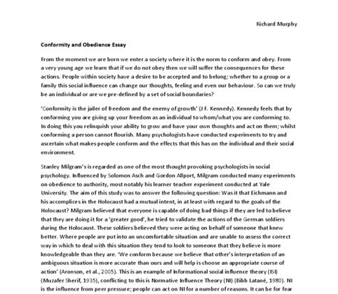 Conformity Essay by College Essays College Application Essays Conformity Essays