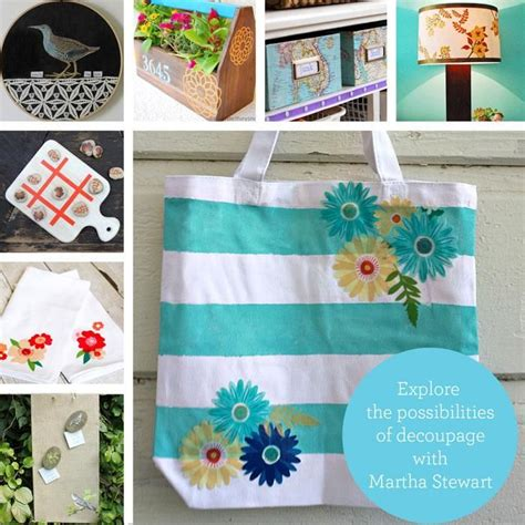 decoupage martha stewart 36 best images about decoupage project on bags