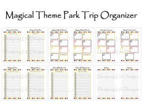 disney planning printables blog