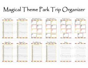 vacation planning calendar template 9 best images of disney world binder printables disney