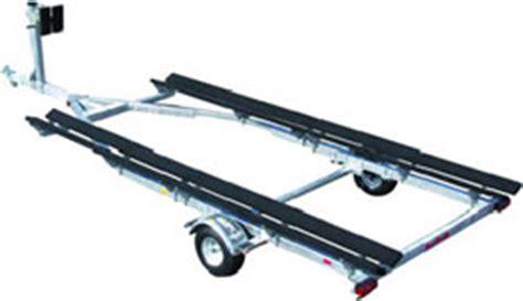 loading pontoon boat on trailer pontoon trailer loading guides