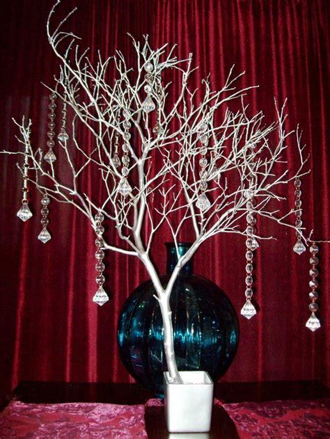tree wedding centerpieces manzanita wood branches decoration style crystal tree wishing tree manzanita branch manzanita