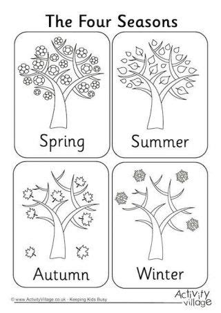 seasons coloring book colouring 1423648080 cool and opulent seasons coloring pages printable four seasons colouring page material