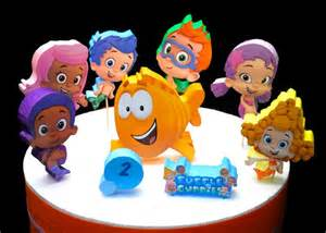bubble guppy cake toppers cakes bubble guppies