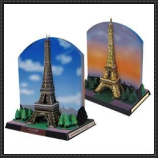 Eiffel Tower Papercraft - canon papercraft architecture building paper model