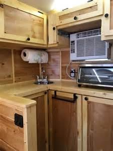 cer trailer kitchen ideas 1000 ideas about cargo trailer cer on