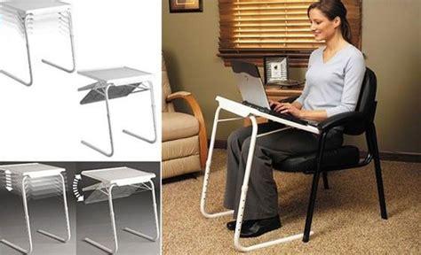 desain meja laptop portable table mate ii meja laptop lipat portable laptop white