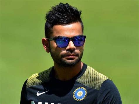 indian batsman virat kohli hairstyle ptv sports
