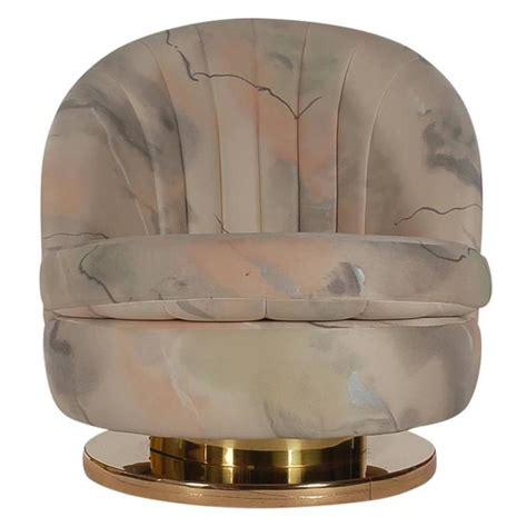 Milo Baughman For Thayer Coggin Swivel Lounge Or Slipper Swivel Slipper Chair