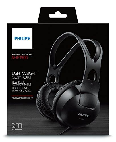 Headphone Philips Shp 1900 philips shp1900 00 stereo headphones