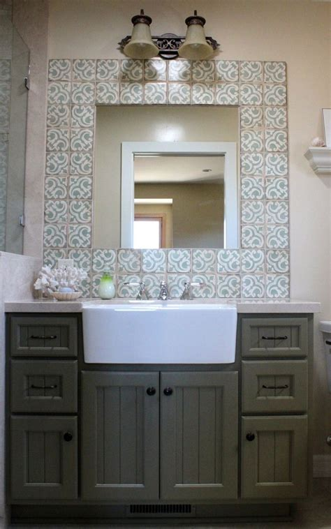 Apron front farmhouse sink to make a utility type sink in bathroom bath amp vanity pinterest