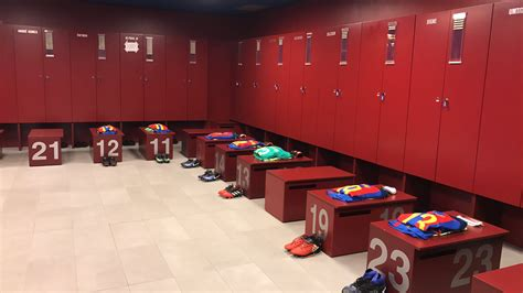Barcelona Fc Room by 23 Of The Slickest Dressing Rooms In Football Gallery Sports Nigeria