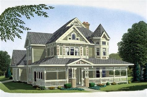 victorian farmhouse plans country farmhouse victorian house plan 95540