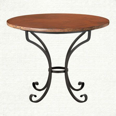copper top dining table with iron chain base at 1stdibs recycled copper 42 quot round dining table with iron italian