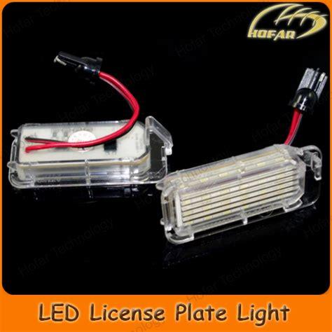 Led License Plate Light Bulbs Rear Registration Number Plate Bulb Led License Plate Light For Ford Focus 5d Mondeo